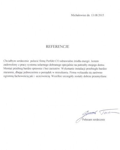 referencja-Michałowice-TG