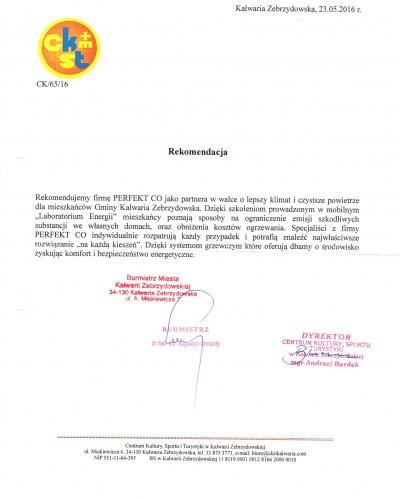 Rekomendacje-Kalwaria-Zebrzydowska